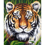 "Канва с рисунком для вышивания гобелена ""Тигр"" 30х40см ""Grafitec"" (Греция)"
