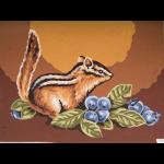 "Канва с рисунком для вышивания гобелена ""Белка"" 30х40см ""Grafitec"" (Греция)"