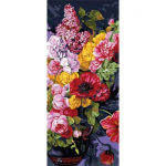 """Канва с рисунком для вышивания гобелена """"Букет полевых цветов"""" 30х60см """"Grafitec"""" (Греция)"""