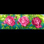 """Канва с рисунком для вышивания гобелена """"Розы"""" 35х80см """"Grafitec"""""""