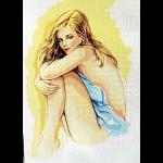 "Канва с рисунком для вышивания гобелена ""Мечты любви"" 60х80см ""Gobelin Diamant"""