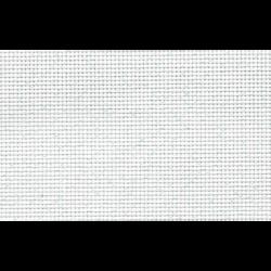 "Канва Аида 14 белая с люрексом, 150х100 см ""Гамма"""