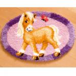 """Набор для вышивания Коврик """"Пони и бабочка"""" 65х45см """"Vervaco"""""""