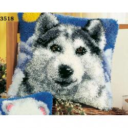 """Набор для вышивания Подушка """"Волк"""" 40х40см"""