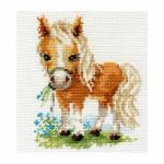 """Набор для вышивания """"Белогривая лошадка"""" """"Алиса"""""""