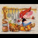 """Набор для вышивания """"Овощная кладовушка"""" """"Алиса"""""""