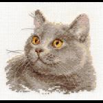 """Набор для вышивания """"Британский кот"""" """"Алиса"""""""