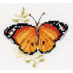 """Набор для вышивания """"Яркие бабочки. Оранжевая"""" """"Алиса"""""""