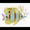 """Набор для вышивания """"Тропические рыбки. Полосатая"""" """"Алиса"""""""