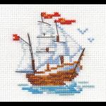 """Набор для вышивания """"Кораблик"""" """"Алиса"""""""