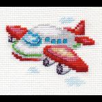 """Набор для вышивания """"Самолетик"""" """"Алиса"""""""