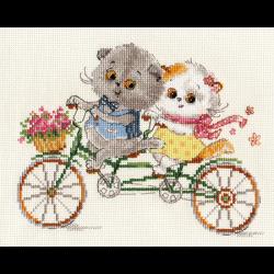 """Набор для вышивания """"Басик и Ли-ли. Счастливый день"""" """"Алиса"""""""