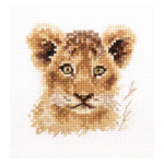 """Набор для вышивания """"Животные в портретах. Львёнок"""" """"Алиса"""""""
