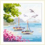 """Набор для вышивания """"Вид на море"""" """"Алиса"""""""