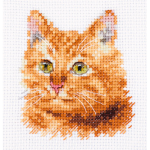 """Набор для вышивания """"Животные в портретах. Рыжий кот"""" """"Алиса"""""""