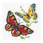 "Набор для вышивания ""Бабочки-красавицы"" ""Алиса"""