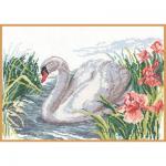 """Набор для вышивания """"Белый лебедь"""" """"Алиса"""""""