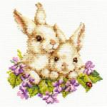 """Набор для вышивания """"Крольчата"""" """"Алиса"""""""