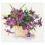 """Набор для вышивания """"Цветущий сад. Крокусы"""" """"Алиса"""""""