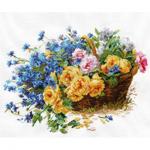 """Набор для вышивания """"Розы и васильки"""" """"Алиса"""""""