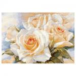 """Набор для вышивания """"Белые розы"""" """"Алиса"""""""