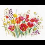 """Набор для вышивания """"Полевые тюльпаны"""" """"Алиса"""""""