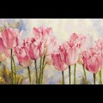 "Набор для вышивания ""Розовые тюльпаны"" ""Алиса"""