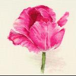 """Набор для вышивания """"Тюльпаны. Малиновое сияние"""" """"Алиса"""""""
