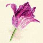 """Набор для вышивания """"Тюльпаны. Сиреневый бархат"""" """"Алиса"""""""