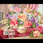 """Набор для вышивания """"Розы в гостиной"""" """"Алиса"""""""