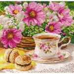 """Набор для вышивания """"Утренний чай"""" """"Алиса"""""""