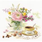 """Набор для вышивания """"Утренний кофе"""" """"Алиса"""""""