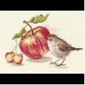 """Набор для вышивания """"Птичка и яблоко"""" """"Алиса"""""""