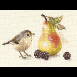 """Набор для вышивания """"Птичка и груша"""" """"Алиса"""""""