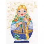 """Набор для вышивания """"Матрешка. Весна-краса"""" """"Алиса"""""""