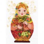 "Набор для вышивания ""Матрешка. Осенняя краса"" ""Алиса"""