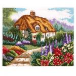 """Набор для вышивания """"Коттедж с цветущим садом"""" """"Anchor"""""""