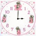 """Набор для вышивания Часы """"Серые мишки"""" (""""Tatty Teddy Clock"""") TT215 """"Anchor"""""""