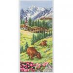 """Набор для вышивания """"Альпы. Швейцария"""" """"Anchor"""""""