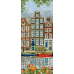 """Набор для вышивания """"Улица в Амстердаме"""" """"Anchor"""""""