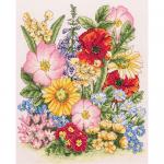 """Набор для вышивания """"Луговые цветы"""" """"Anchor"""""""