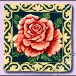 """Набор для вышивания Подушка """"Роза"""" """"Candamar Design"""" (США)"""