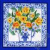 """Набор для вышивания Подушка """"Нарциссы и голубой фаянс"""" """"Candamar Design"""" (США)"""