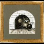 """Набор для вышивания """"Мышь в норке"""" """"Чаривна Мить"""""""
