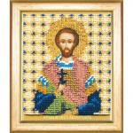 """Набор для вышивания бисером """"Икона святой мученик Валентин"""" """"Чаривна Мить"""""""