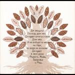 """Набор для вышивания """"Дерево благословение"""" """"Чаривна Мить"""""""