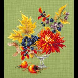 """Набор для вышивания """"Осенний букетик"""" """"Чудесная Игла"""""""