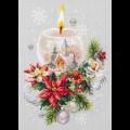 """Набор для вышивания """"Рождественская свеча"""" """"Чудесная Игла"""""""
