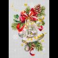 """Набор для вышивания """"Рождественский колокольчик"""" """"Чудесная Игла"""""""