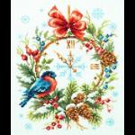 """Набор для вышивания """"Время Рождества"""" """"Чудесная Игла"""""""